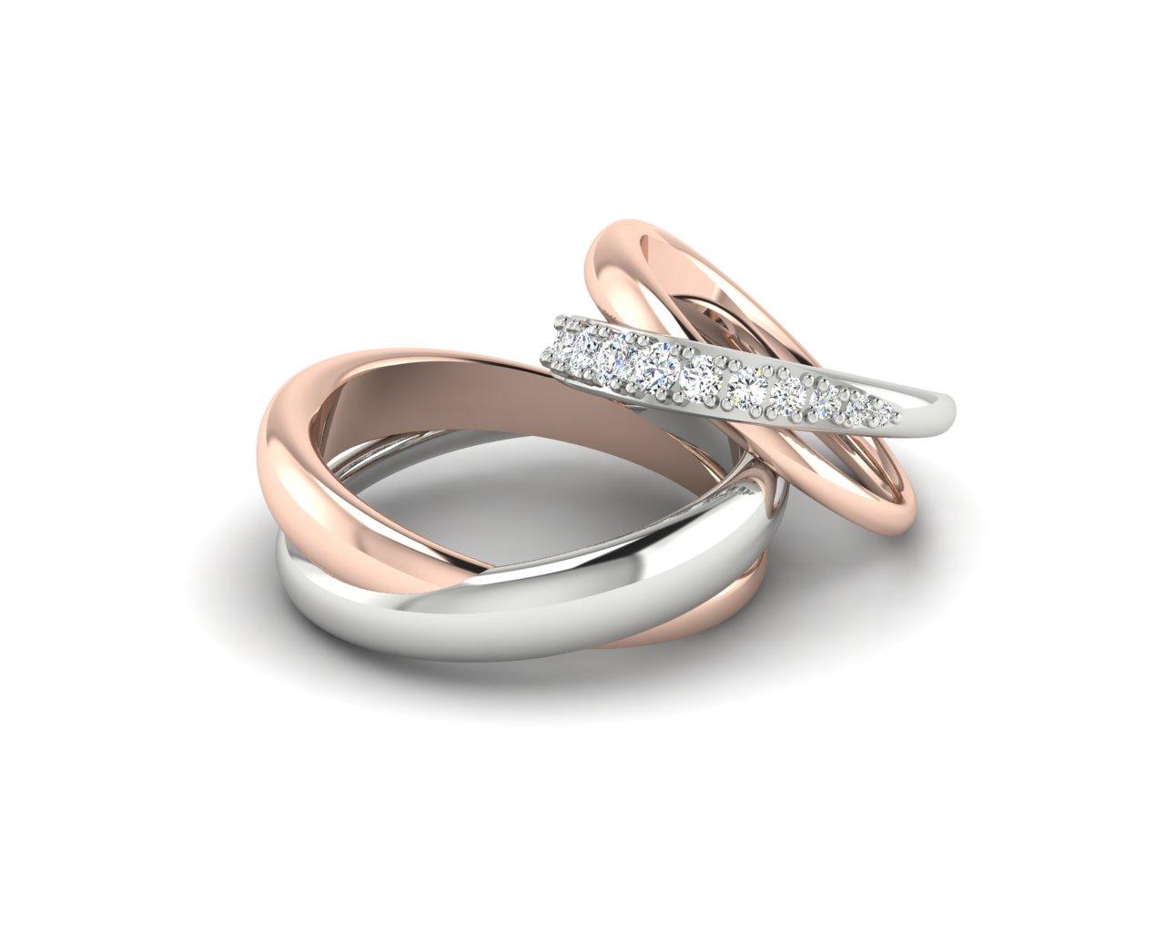 Snubní prsteny Variation of Link