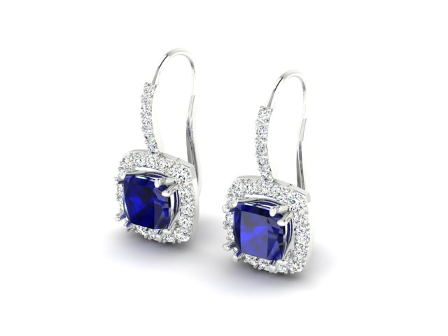Náušnice Sapphire