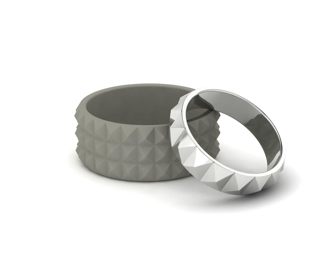 Snubní prsteny Punk