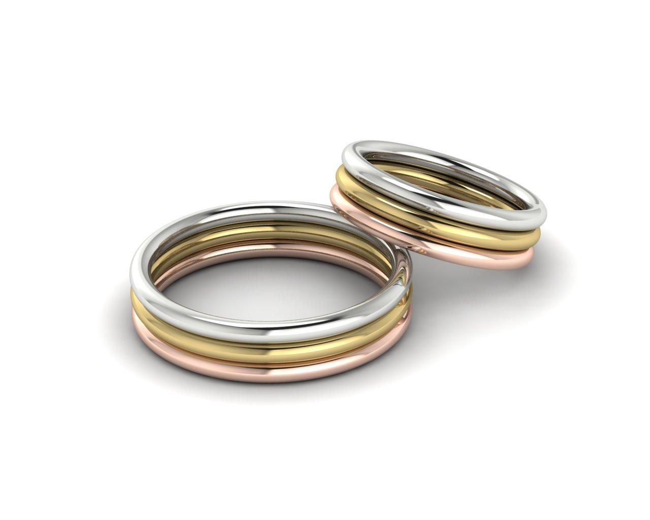 Snubní prsteny Circles