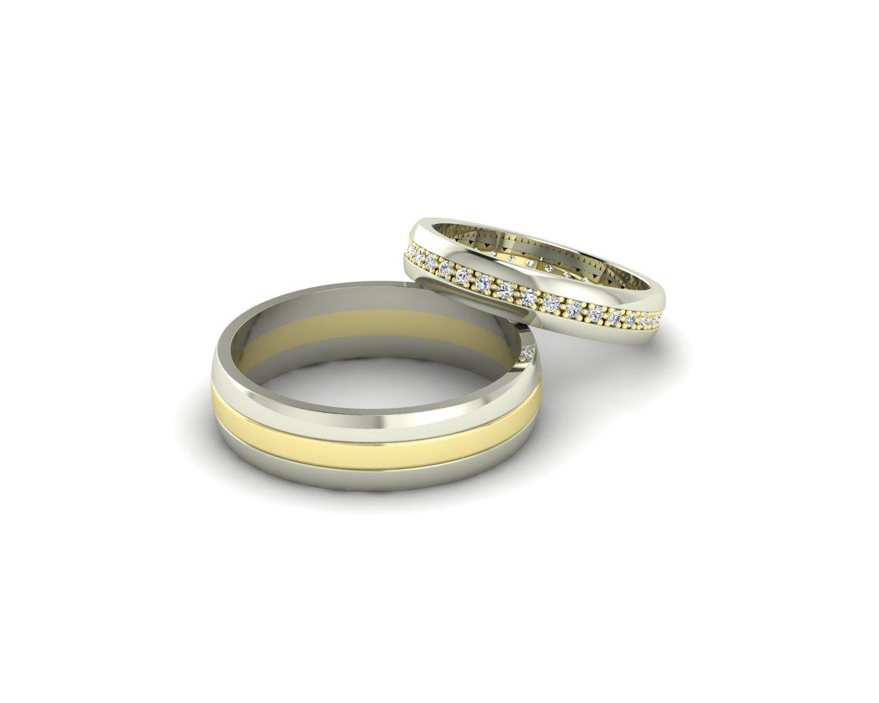 Snubní prsteny Variation of Lean