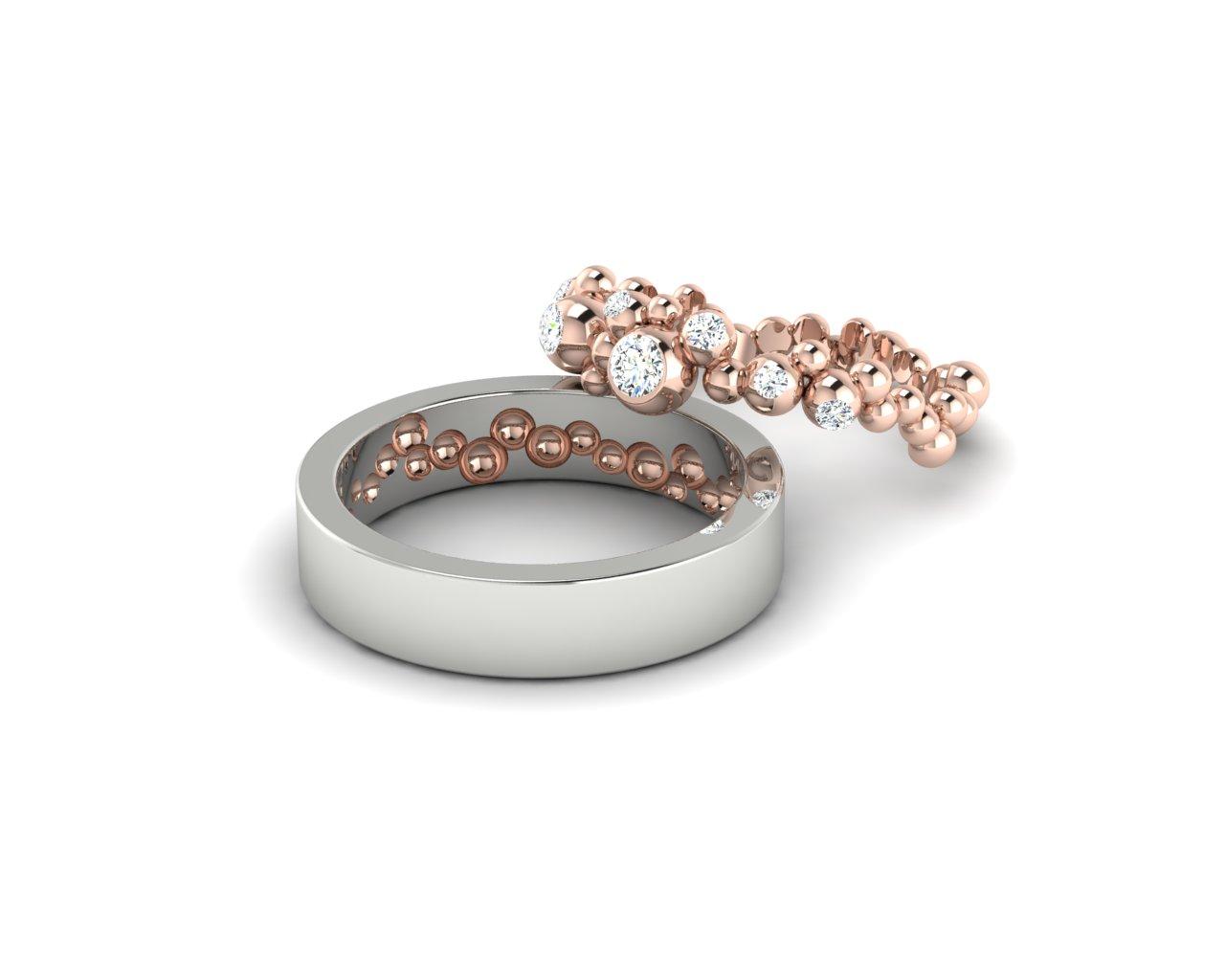 Snubní prsteny Variation of Mol