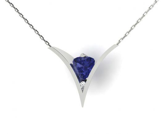 Přívěsek Blue Hearth