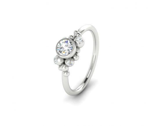 Zásnubní prsten Mol