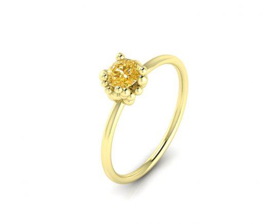 Zásnubní prsten Variation of Mol