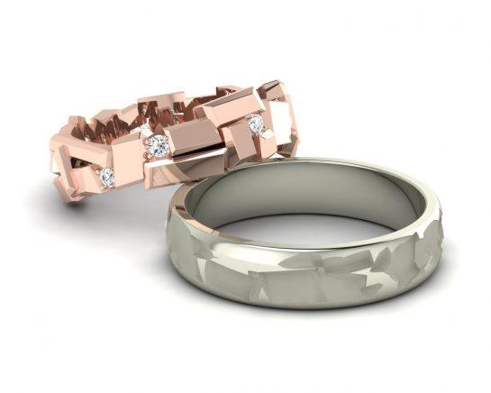 Snubní prsteny Variation of Tron