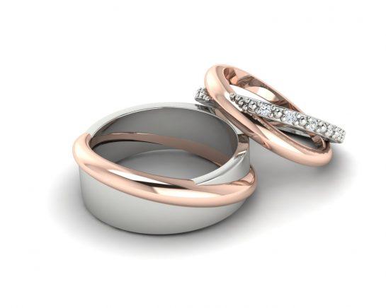 Snubní prsteny pro Petra a Petru